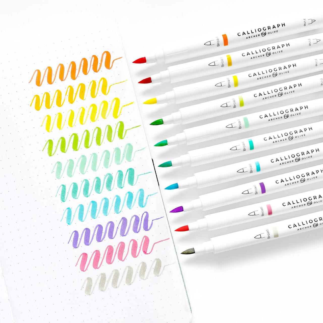 Calliograph Pens - Tropical Collection