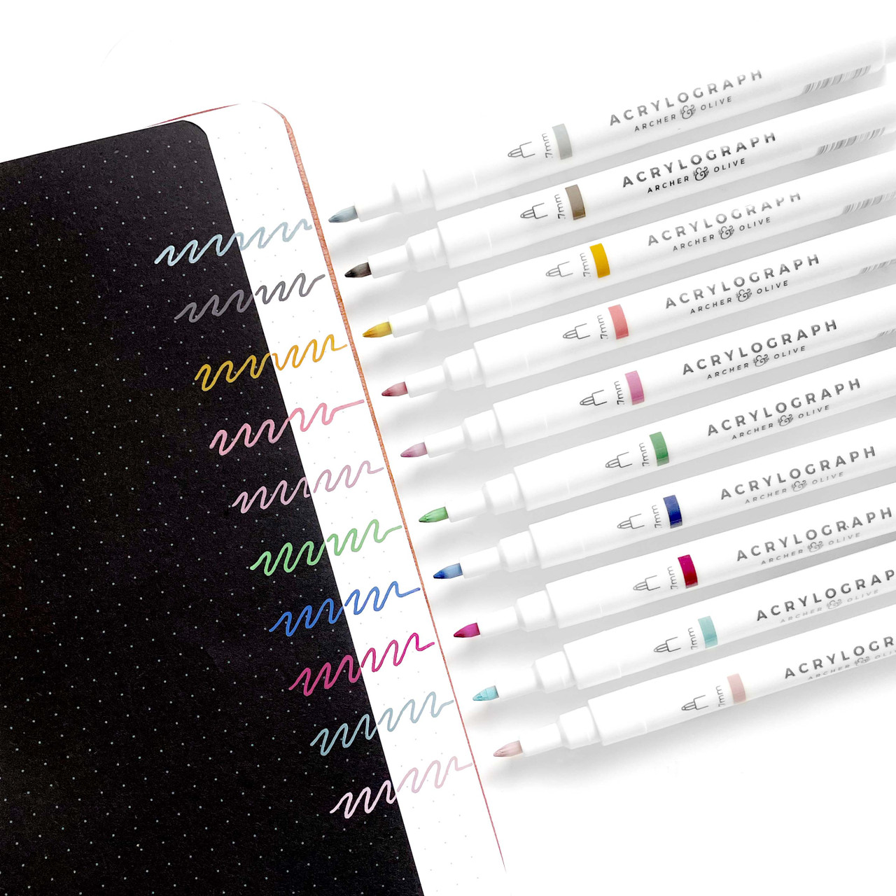 Acrylograph Pens Spellbind Collection 0.7mm Tip