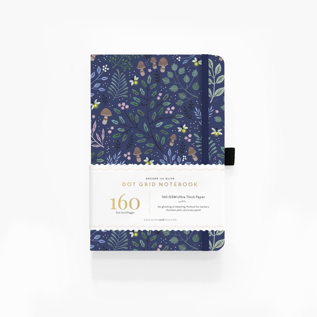 A5 Into The Forest Dot Grid Notebook by Archer & Olive