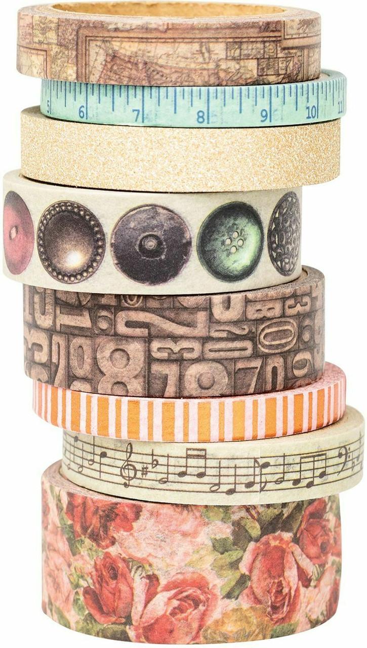 BoBunny Family Heirlooms Washi Tape - 8 rolls