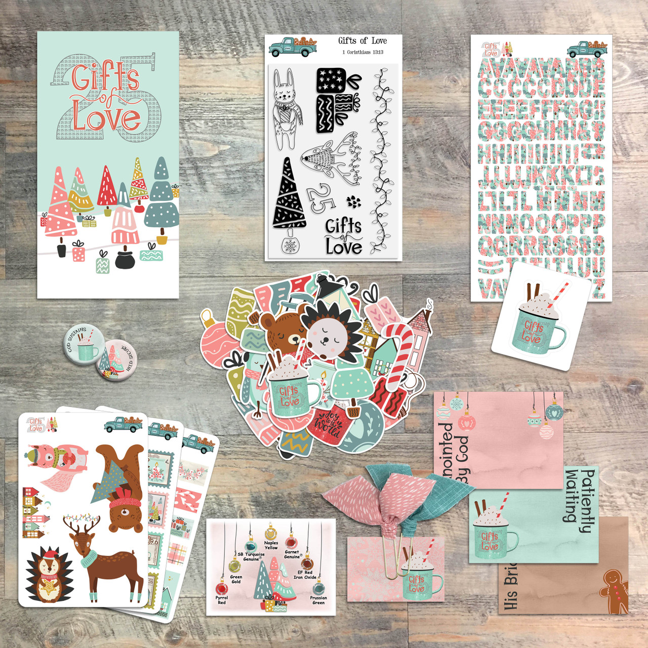 25 Gifts of Love - Devotional Kit for Bible Journaling from ByTheWell4God