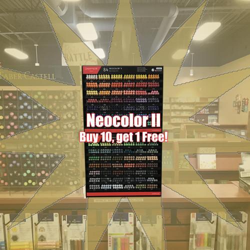 Neocolor II - Blue - 9500.260