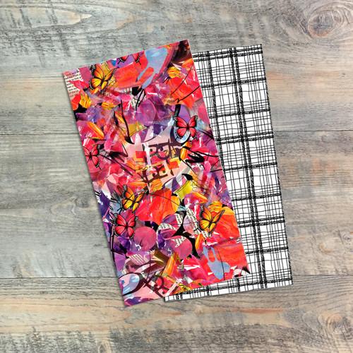 20|20 Vision - Living Life Through a God Lens - Blank Journal Set  - Pair of Custom Travelers Notebook Inserts - 2 Notebook Inserts - Inserts for Dori