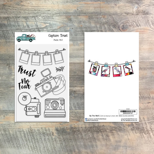 Capture Trust Stamp Set - 7 Piece Stamp Set - ByTheWell4God