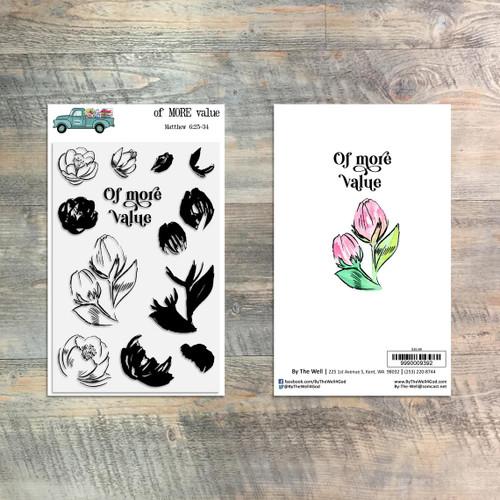 Of More Value Stamp Set - 13 Piece Stamp Set