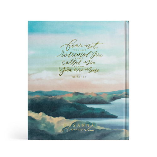 Hosanna Revival Bible - Mountain Home (Gold Foil) Theme - ESV Journaling Bible