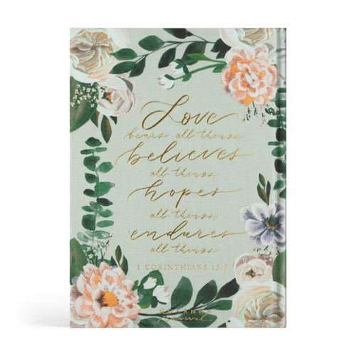 Hosanna Revival Bible - Victoria Theme - ESV Large Print Journaling Bible