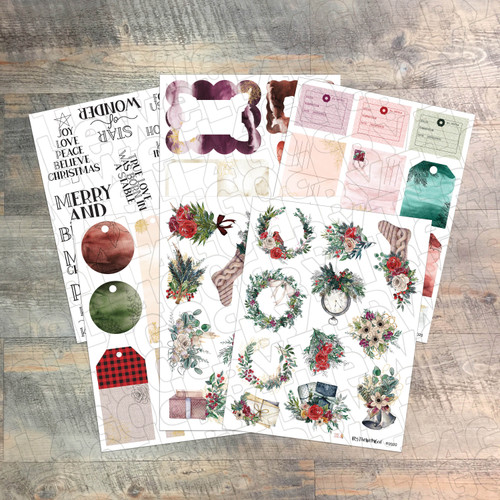 Winter Beauty - Ephemera, Tags & Frames - Print & Cut!