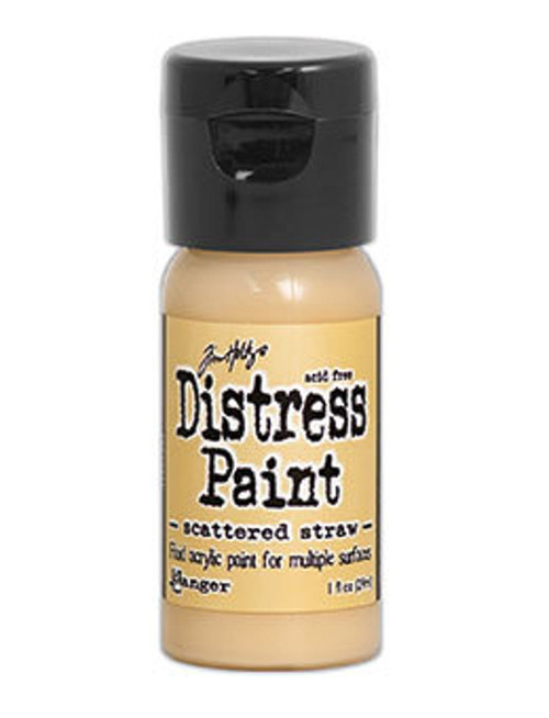 Scattered Straw Distress Paint - Fluid Acrylic - Flip Top - 1 oz