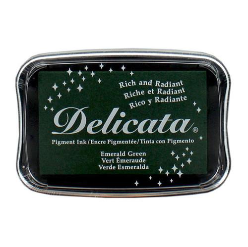 Delicata Emerald Green Pigment Ink Pad