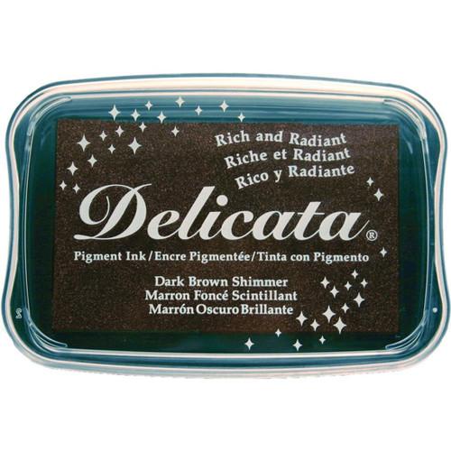 Delicata Dark Brown Pigment Ink Pad