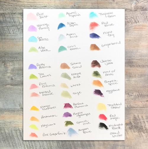 Open Stock Dew Drop Ink - Coordinate with ByTheWell4God Kits - Tsukineko Versamagic Dew Drop Chalk Pigment Ink Set