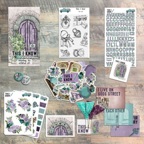 This I Know - Devotional Kit for Bible Journaling from ByTheWell4God