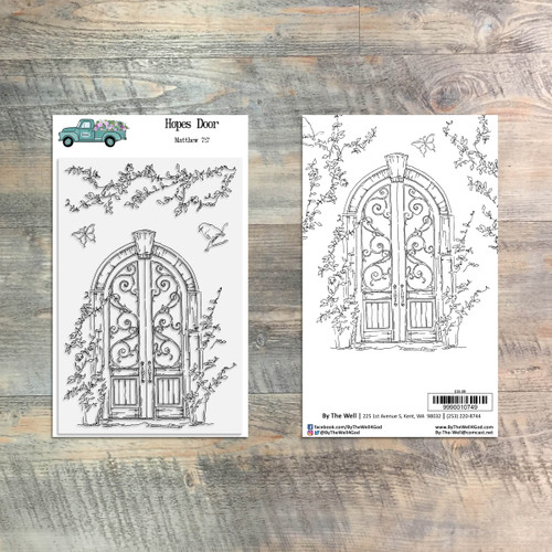Hopes Door  - 4 Piece Stamp Set - ByTheWell4God