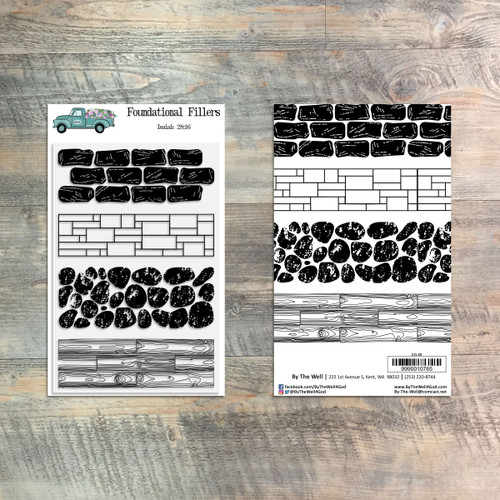 Foundational Fillers  - 4 Piece Stamp Set - ByTheWell4God