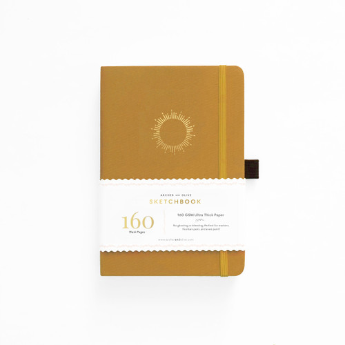 A5 Morning Sun Blank Pages Notebook