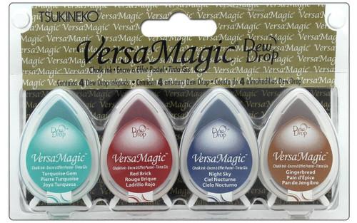 Southwest - Tsukineko Versamagic Dew Drop Chalk Pigment Ink Set - TSUGD100.4