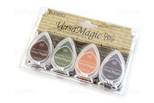 Harvest - Tsukineko Versamagic Dew Drop Chalk Pigment Ink Set - TSUGD100.8