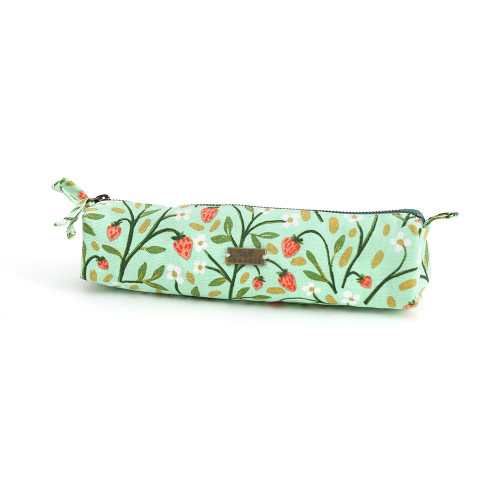 Strawberry Meadow Pencil Pouch - Tote