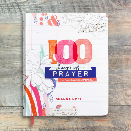 Shanna Noel - 100 Days of Prayer - Devotional Journal, a perfect companion for your Bible Art Journaling