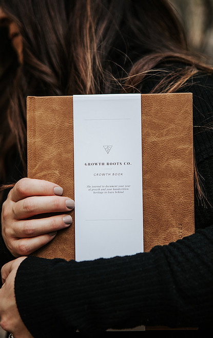 Growth Book - Leather