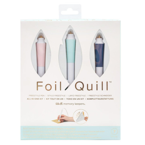 Foil Quill Freestyle Starter Kit - by We R Memory Keepers - Make beautiful foiled designs!