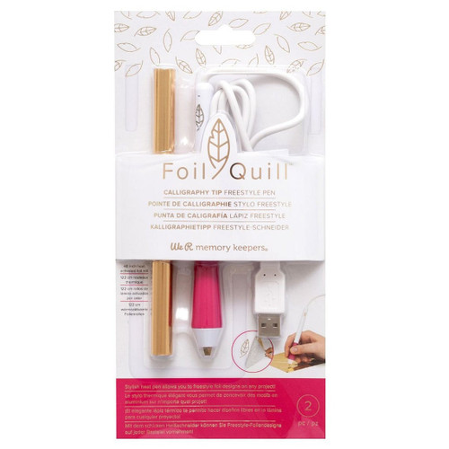 Foil Quill Freestyle Calligraphy Tip Foil Pen - by We R Memory Keepers - Make beautiful foiled designs!