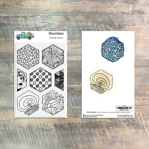 Discordance - 7 Piece Stamp Set - ByTheWell4God
