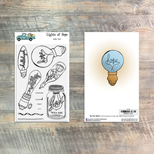 Lights of Hope - 11 Piece Stamp Set - ByTheWell4God