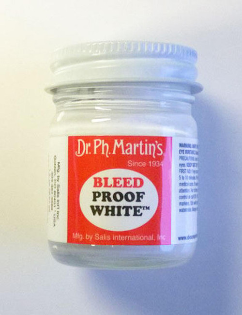 Dr. Ph. Martin's Bleed Proof White 1oz - Lettering Paint - Perfect for Bible Journaling!