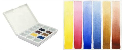 Daniel Smith: Sketcher Hand Poured Watercolor Half Pan Set - Bible Journaling Supplies