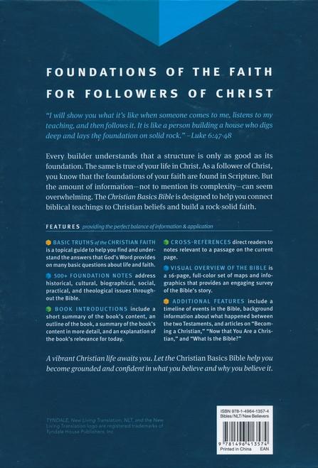 NLT Christian Basics Bible, Brown/Tan Soft Imitation Leather