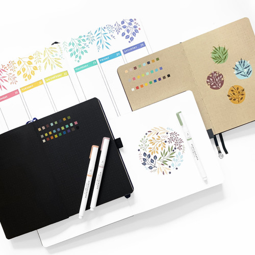Acrylograph Pens Spring Awakening Collection 0.7mm Tip