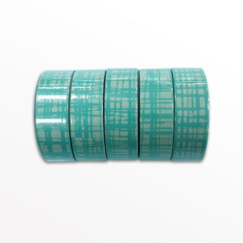CROSShatch Washi Tape - 1 Roll, 15mm Width