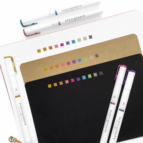 Acrylograph Pens Metallic Collection 3.0mm Tip