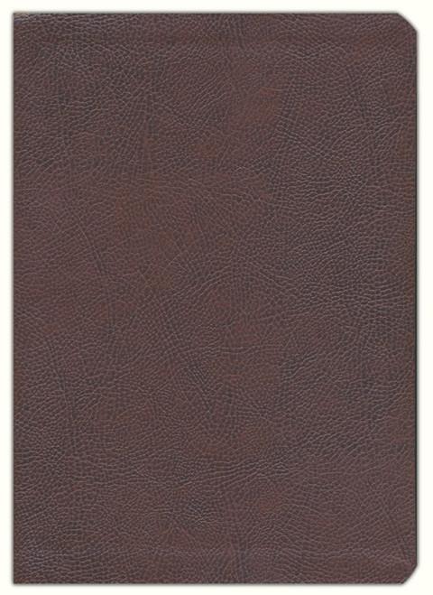 ESV Single Column Journaling Bible, Large Print (Mocha) - Large Print