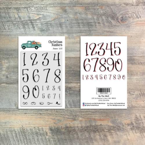 Christina's Numbers - 3x4 Stamp Set