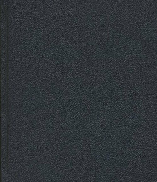 ESV Journaling Bible -- Buffalo Leather over Board, Deep Brown