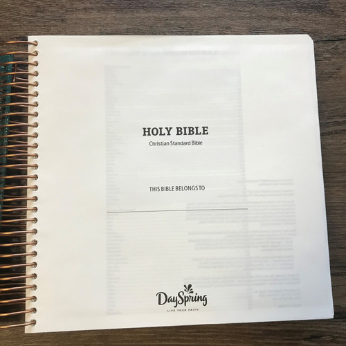 Illustrating Bible - CSB Translation - Green
