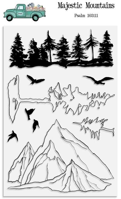 Majestic Mountains Stamp Set