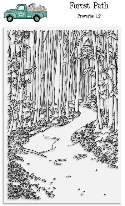 Forest Path Stamp Set