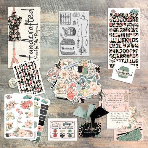Handcrafted - Devotional Kit for Bible Journaling
