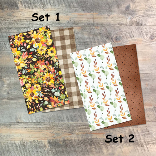 One Another - Blank Journal Set  - Pair of Custom Travelers Notebook Inserts - 2 Notebook Inserts - Inserts for Dori