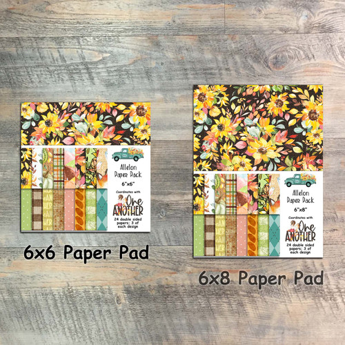 One Another - Allelon Paper Collection - 24 Double Sided 6x6 or 6x8 Papers