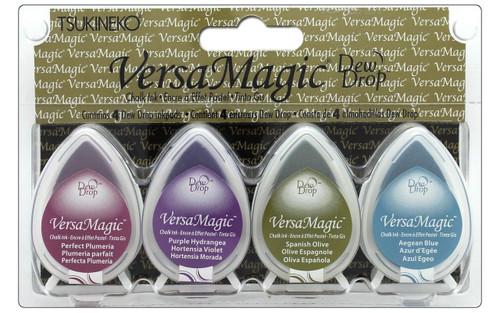 Jewel Box - Tsukineko Versamagic Dew Drop Chalk Pigment Ink Set - TSUGD100.2