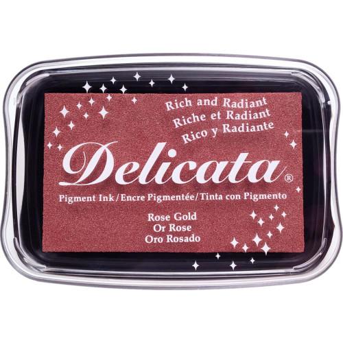 Delicata Rose Gold Pigment Ink Pad