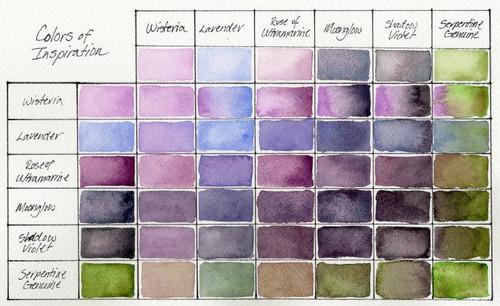 Daniel Smith: Colors of Inspiration Hand Poured Watercolor Half Pan Set - Bible Journaling Supplies