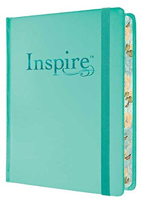 Inspire Bible NLT: The Bible for Creative Journaling, for your Illustrated Faith Bible Journaling