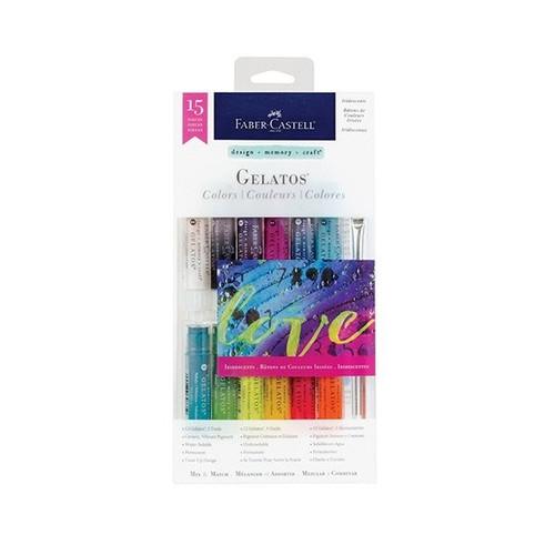 D-M-C Mix & Match Gelatos Colors - Iridescents - by Faber-Castell