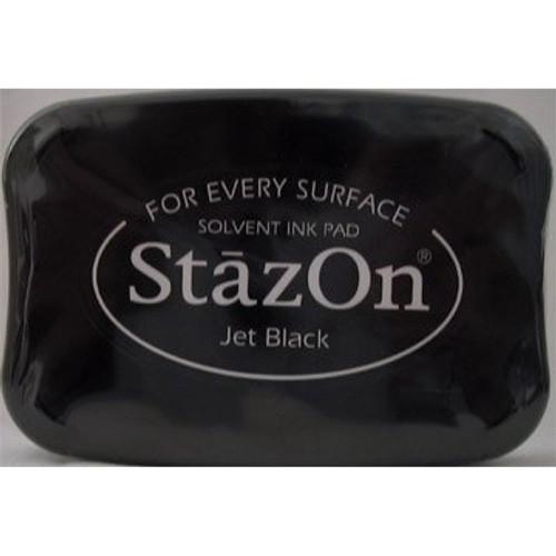 StaZon - Ink Pad:  Jet Black